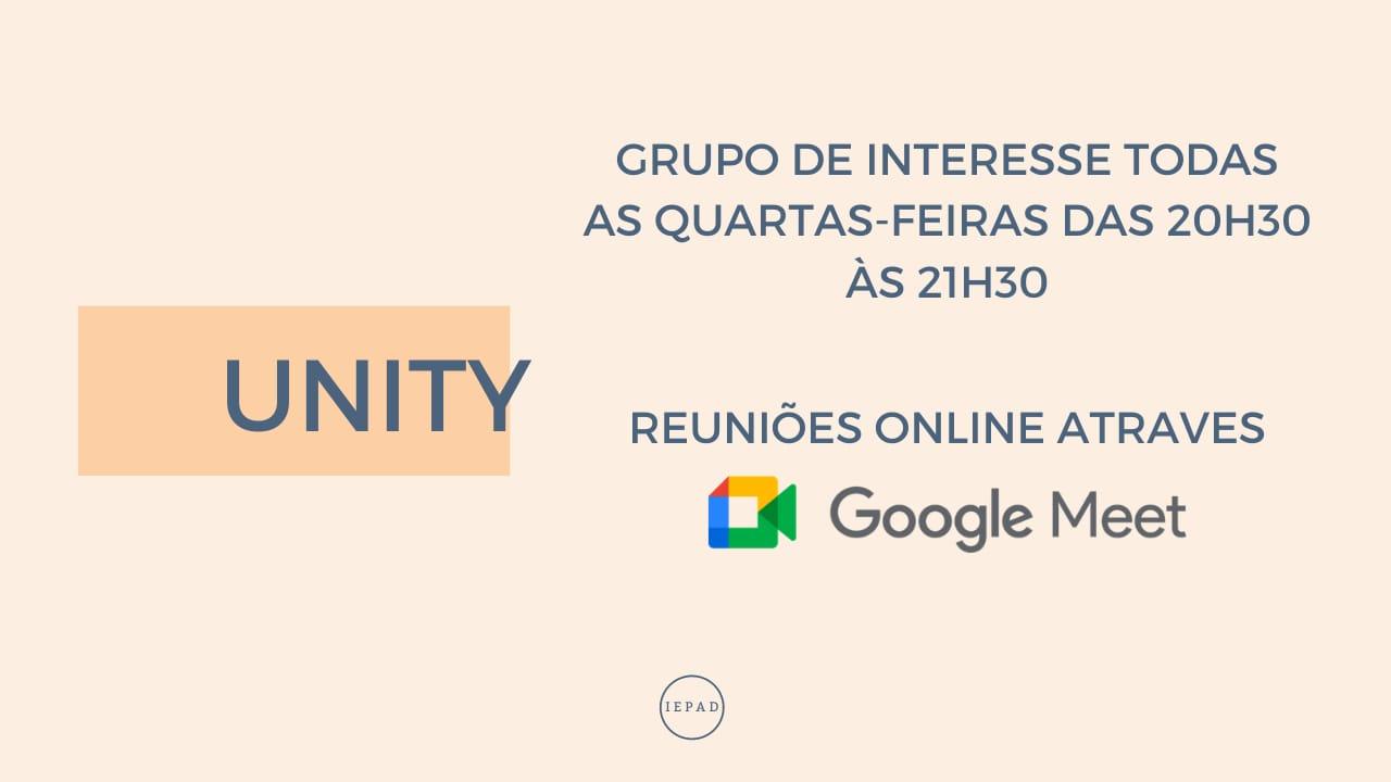 UNITY GRUPO DE INTERESSE EM CONHECER A PALAVRA DE DEUS